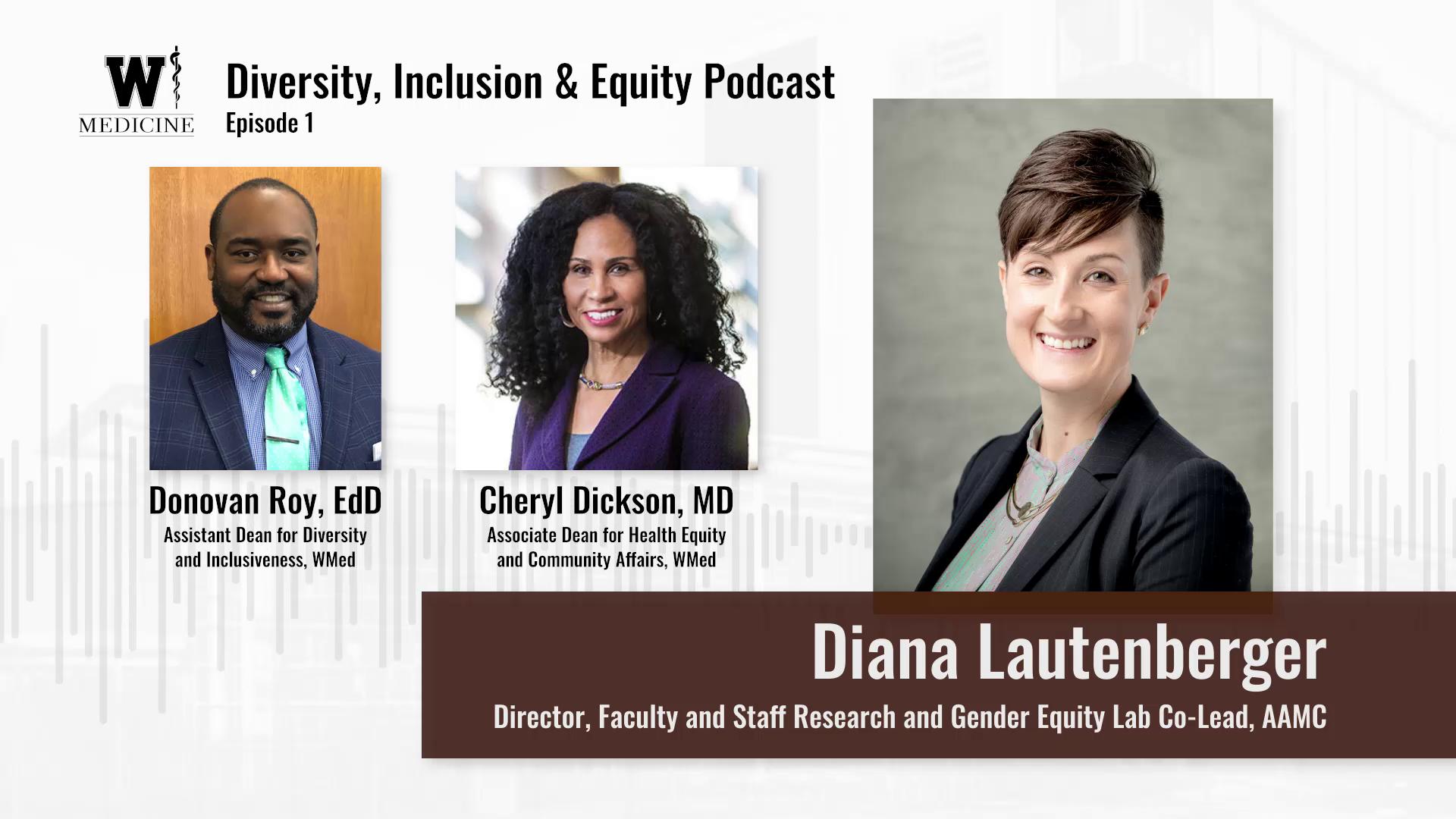 Podcast: Pushing the Conversation Forward on Diversity, Equity & Inclusiveness Banner